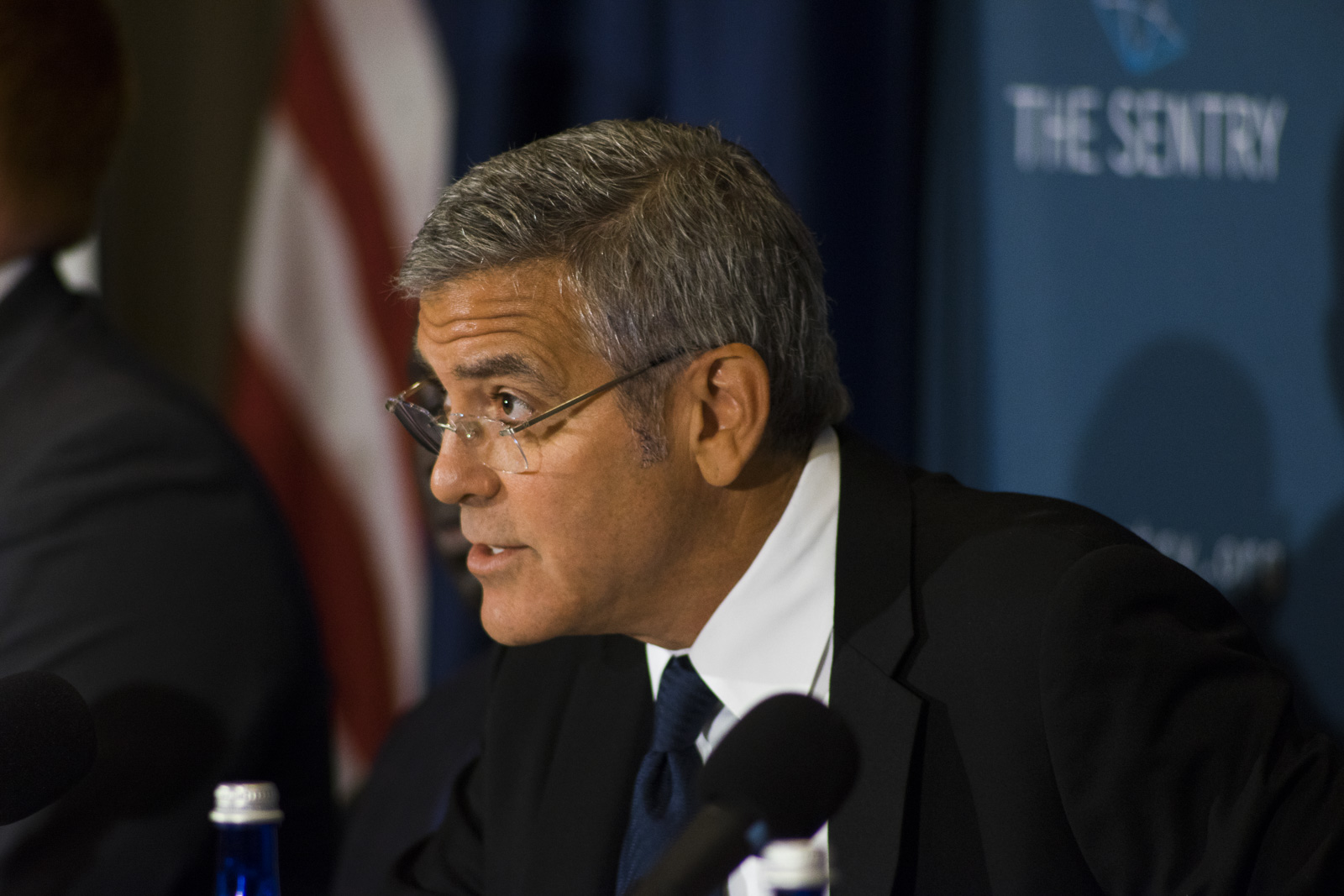 George Clooney testifies re South Sudan
