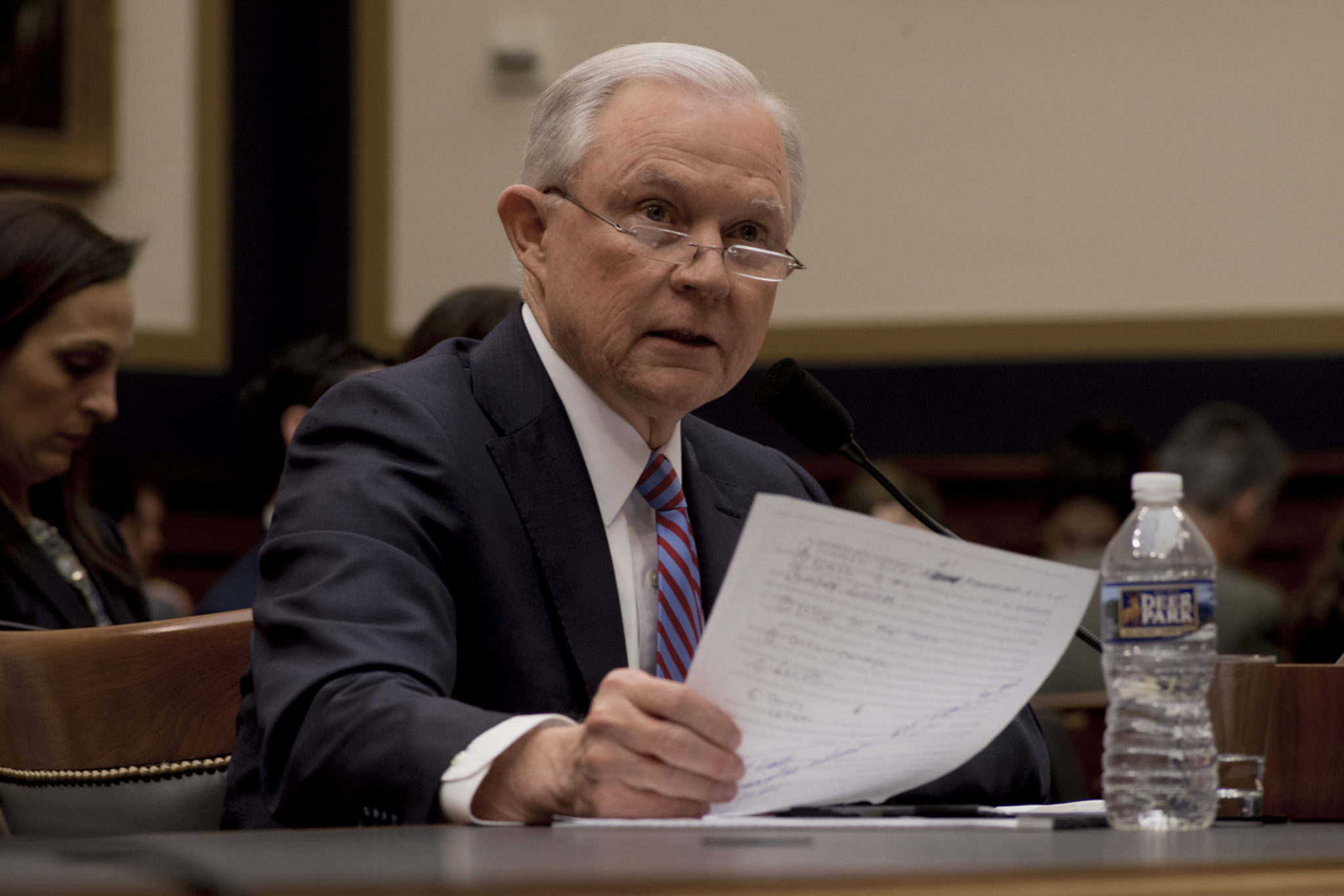 AG Jeff Sessions testifies before the House Judiciary Committee