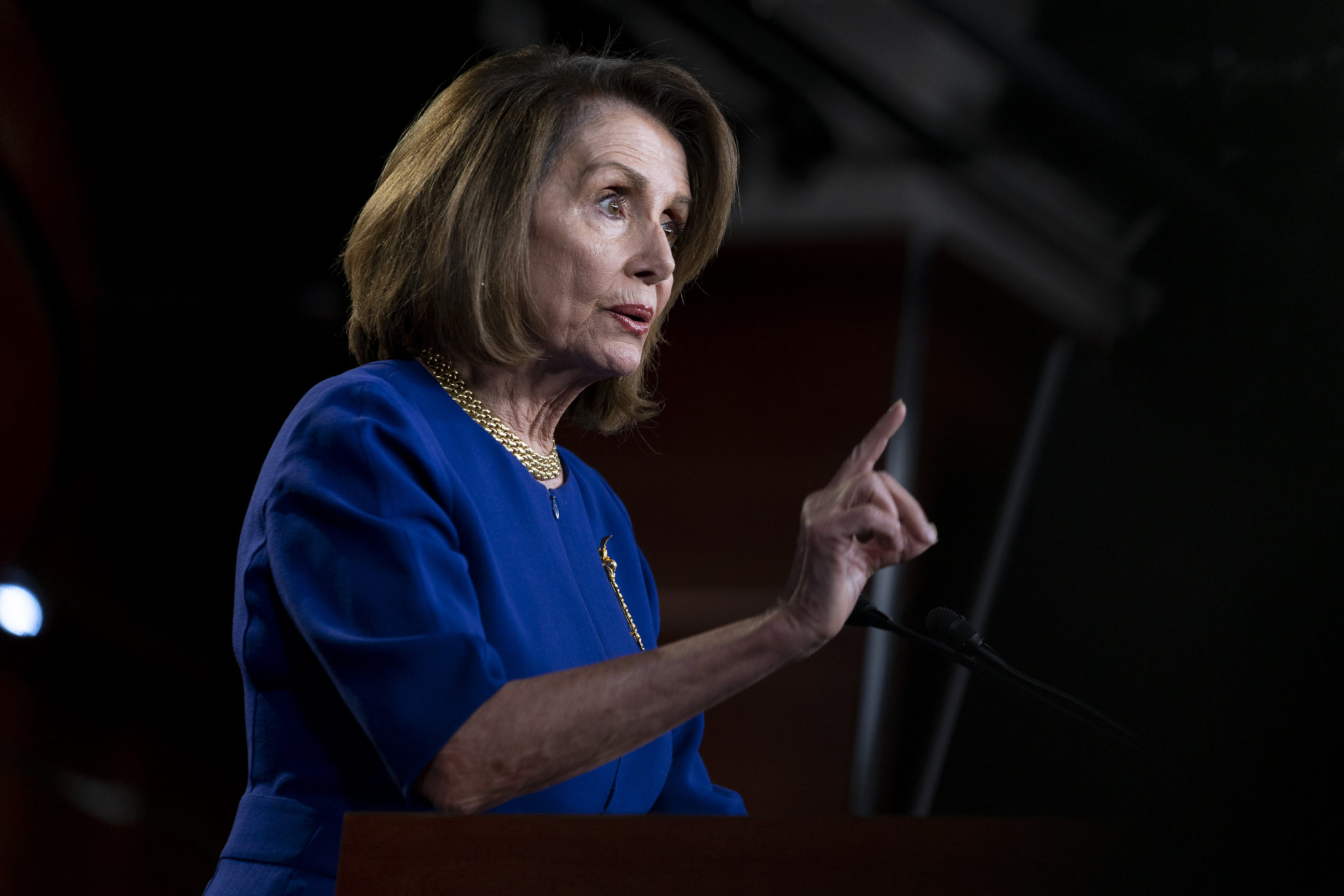 House Speaker Nancy Pelosi, February 5, 2019
