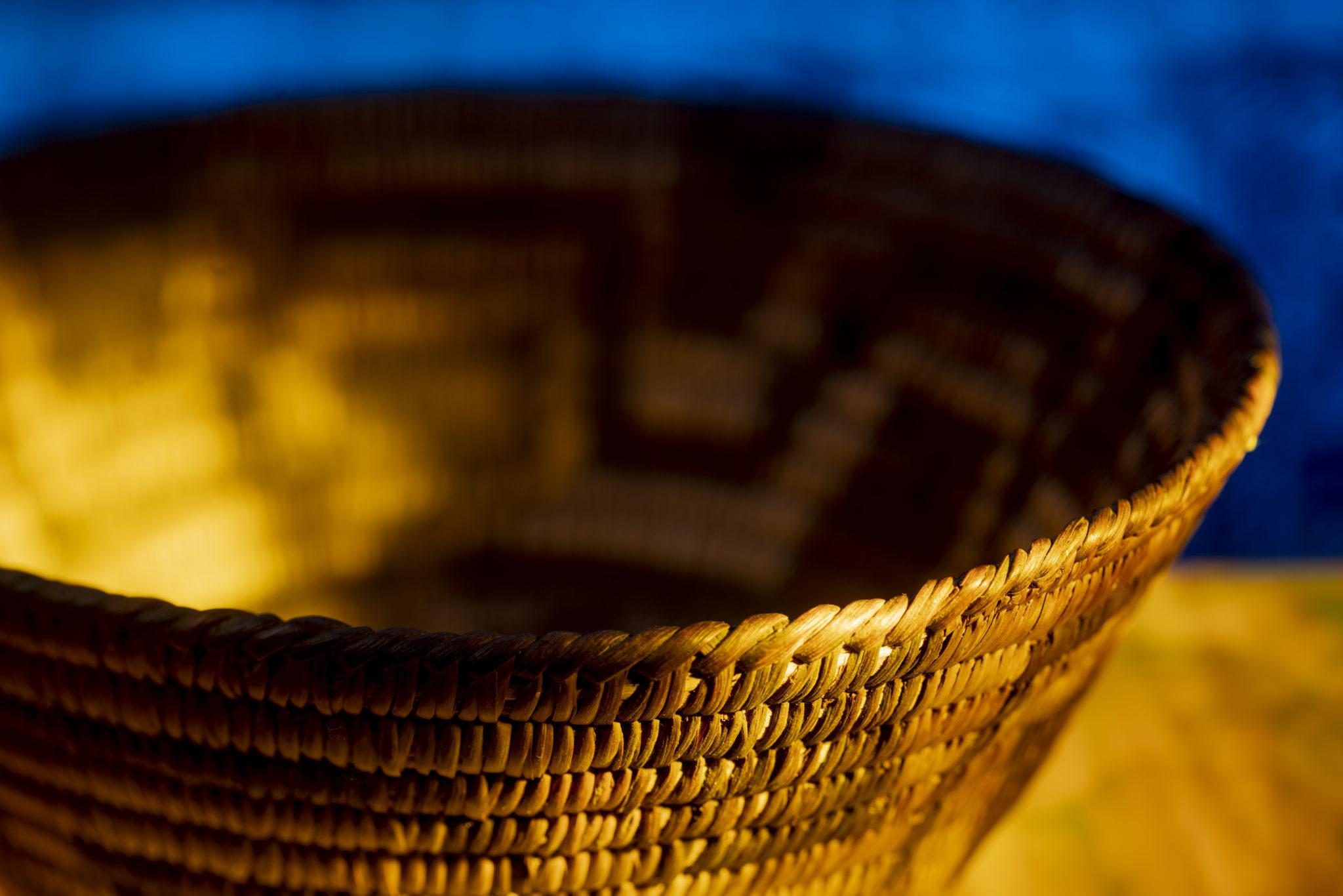Early Pima Southwest Indian Basket