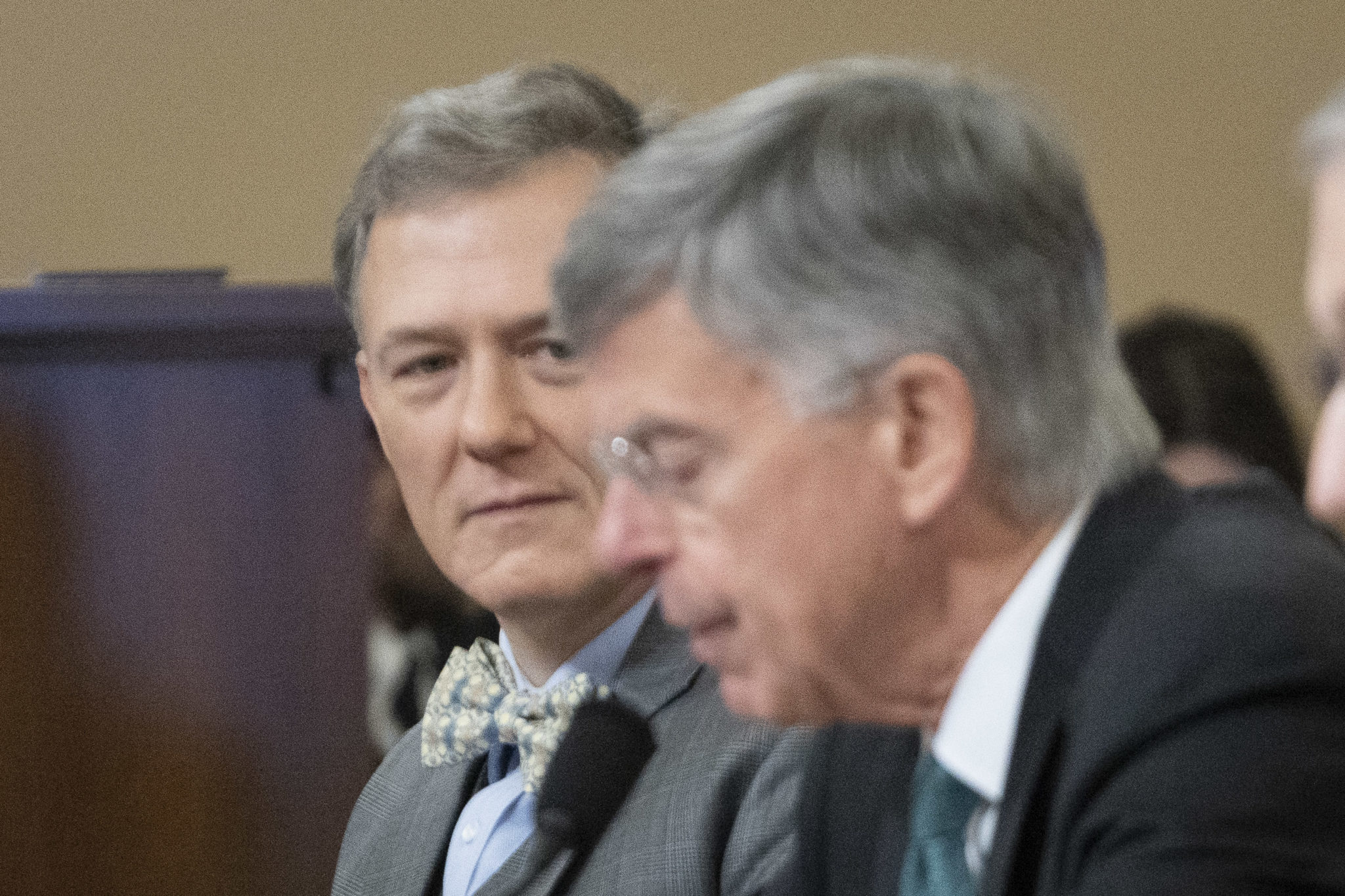 George Kent and William Taylor testify, Nov. 13, 2019