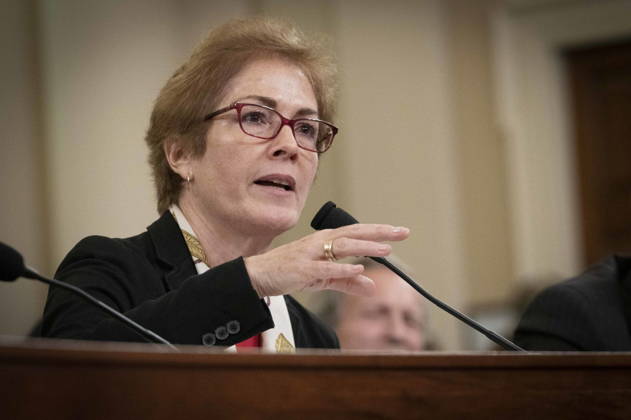 Marie Yovanovitch testifies before House Intelligence
